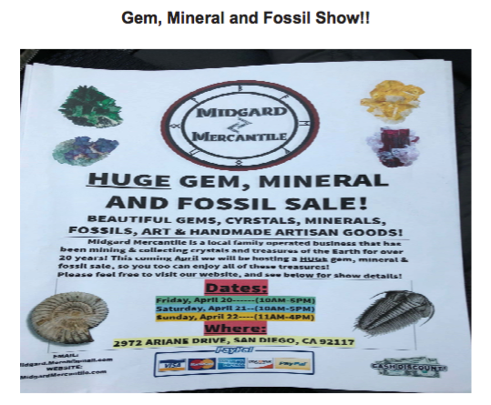 Gem Mineral and Fossil Show